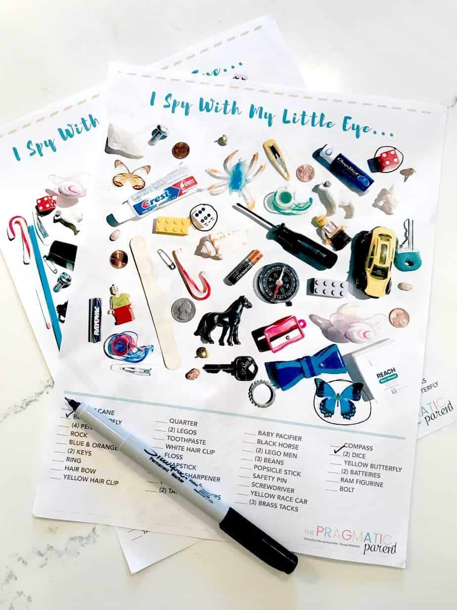 I Spy For Kids Printable Game Sheets To Keep Kids Busy Amp Engaged