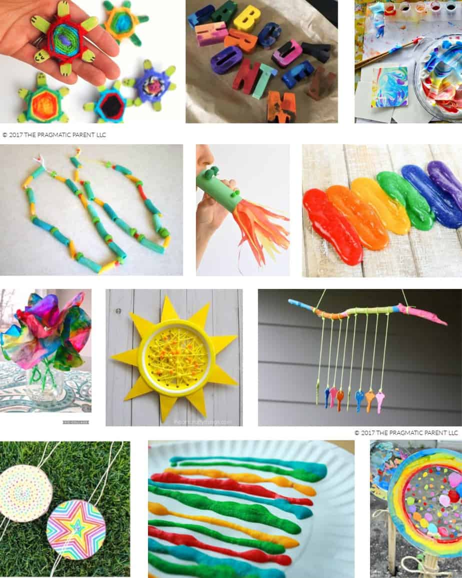 25 Easy Craft Ideas For Kids To Make At Home Mom Approved