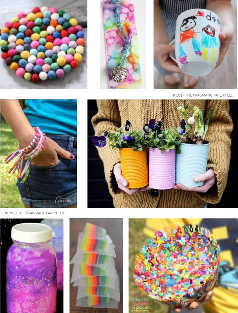 8 Arts Craft Projects Easy Things For Kids To Make And Sell