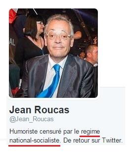 Jean Roucas - Profil et national socialisme
