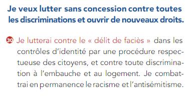 Promesse François Hollande récépissé de contrôle d'identité !