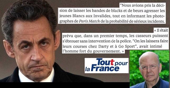 """Sarkozy et les bandes de """"blacks et beurs"""" selon Patrick Buisson - ThePrairie.fr !"""