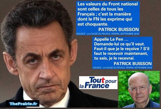 Sarkozy et le FN selon Patrick Buisson - ThePrairie.fr !