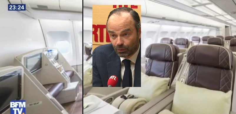 Edouard Philippe et l'avion à 350000 euros - ThePrairie.fr !