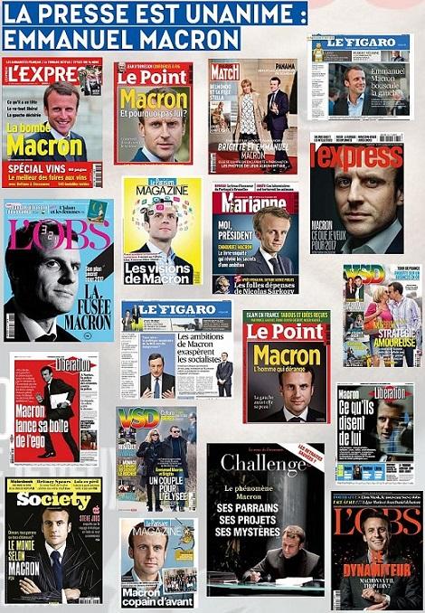 Macron à la Une - Acrimed