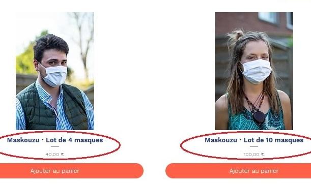 Site internet Maskouzu