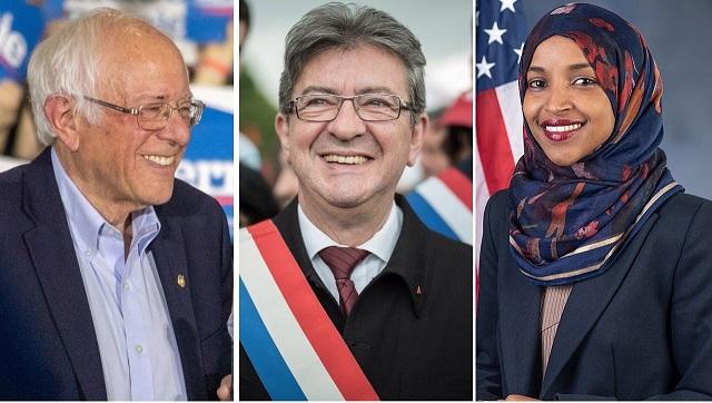 Melenchon, Sanders, Omar