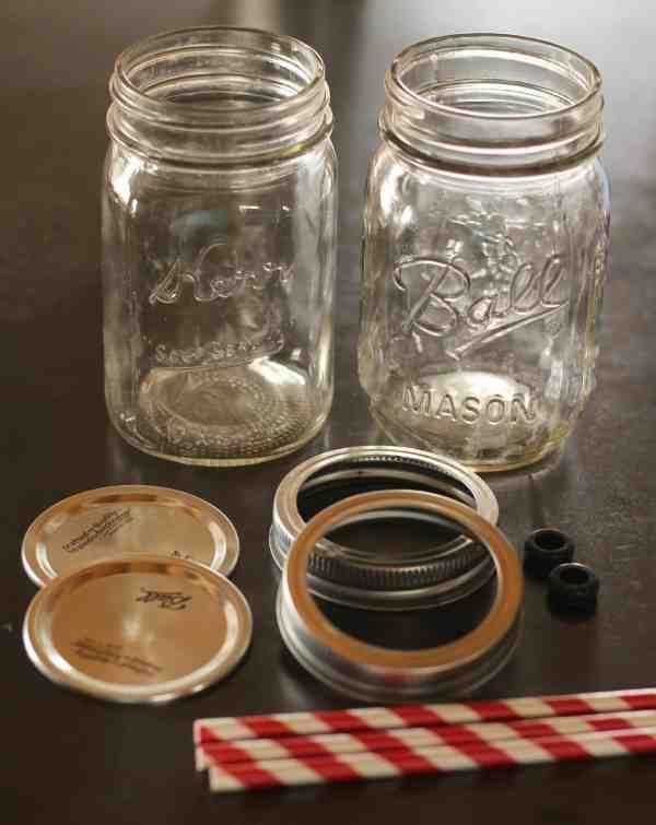 Diy Mason Jar Cup With Straw Prairie Homestead