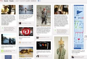 Pinterest for public relations