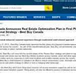 Best Buy news release announces 900 layoffs