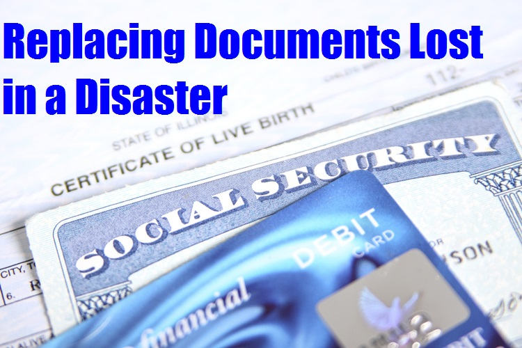 Replacing Documents Lost in a Disaster  The Prepared Page