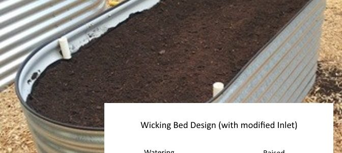 Diy Self Watering Wicking Garden Bed The Prepared Page