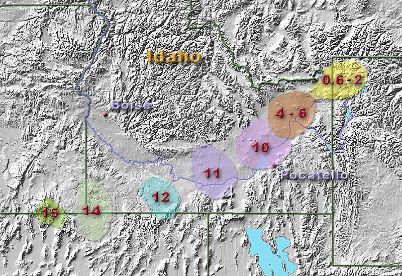 YellowstoneHotSpots-MillionsOfYears