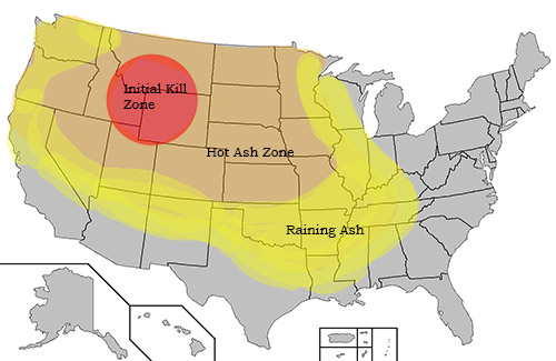 Yellowstone supervolcano eruption would cause 90k deaths and nuclear winter