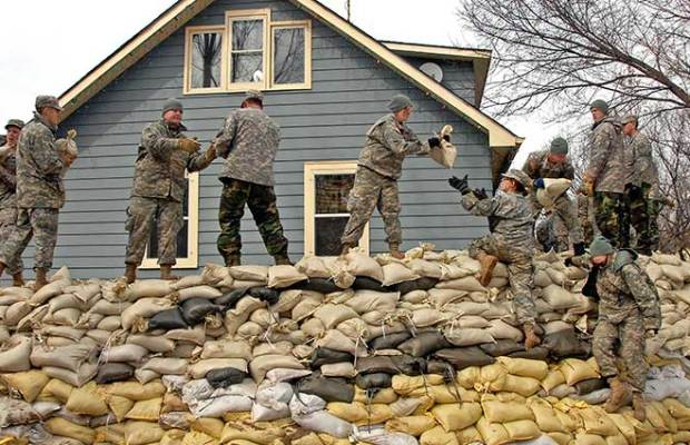 How To Use Sandbags To Stop Water Or Bullets The Prepper