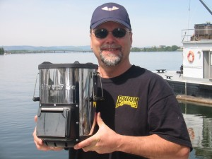 Capt. Bill and his SilverFire stove