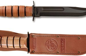 Ka Bar knife has been proven tough for over 50 years.