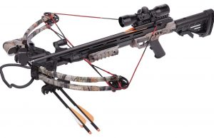 CenterPoint Sniper 370 - Camo Crossbow Package - $279