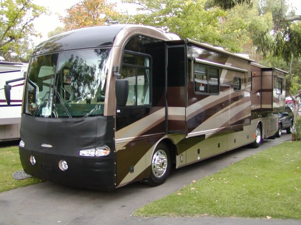 RV's this size offer a ton of luxury, but not a lot of feasibility off road.
