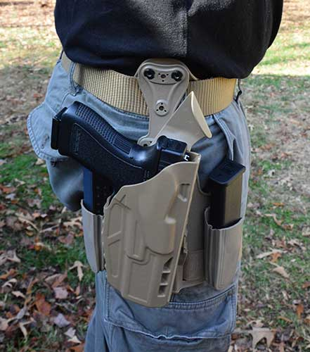 Rogers Tactical Holster - My favorite holster.