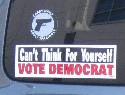 I understand both sentiments, but could this make you a target?