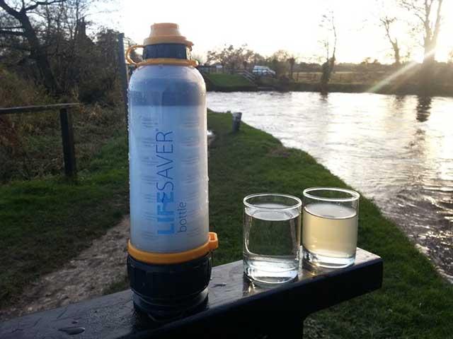 Lifesaver Water Bottle 6000 UF