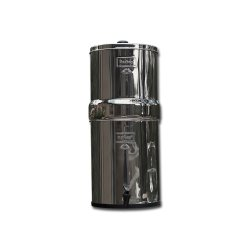 Filter Gallons of water easily with gravity fed Big Berkey.
