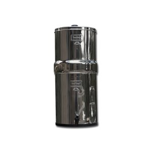Berkey BK4X2-BB Big Berkey Drinking Water Filtration System with 4 Filters - 2 Black Filters and 2 Fluoride Filters