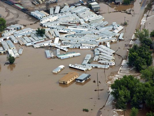 Flooding in Colorado.