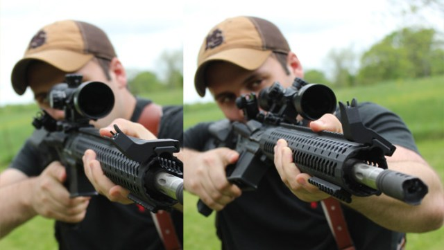 Gun Gadget - shooting offset-sights comparison - reddotsights_us