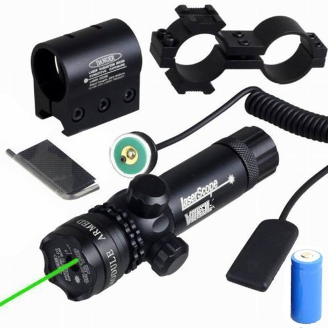 Vokul Shockproof 532nm Tactical Green Dot Laser Sight