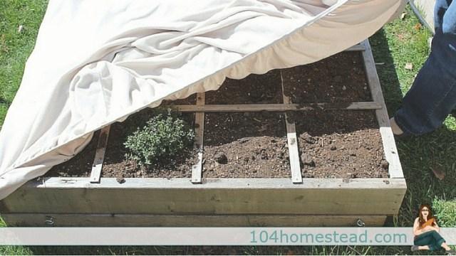 bed-sheets - garden