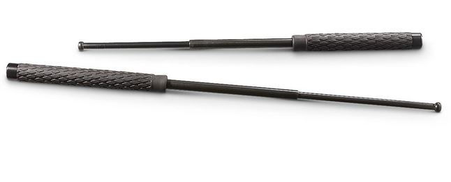 Expandable Solid Steel Baton