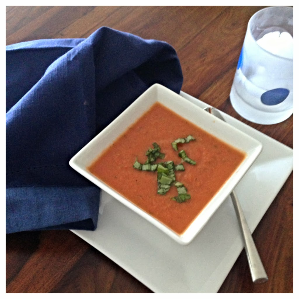 Roasted Tomatoes Ina Garten roasted tomato and basil soupina garten - the preppy hostess