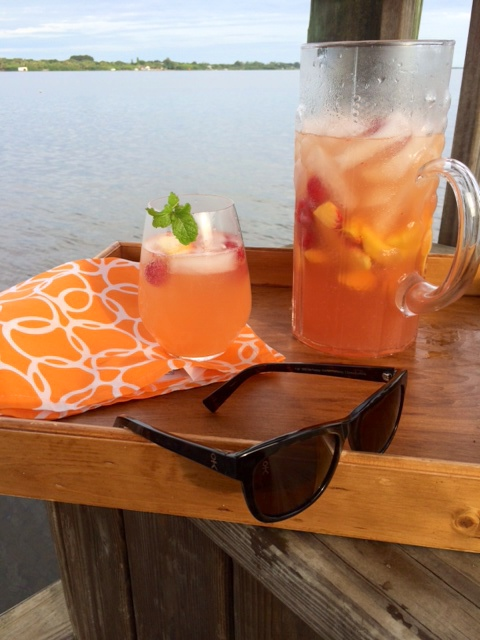 Sangria and Shades with Dicks Cottons Sunglasses