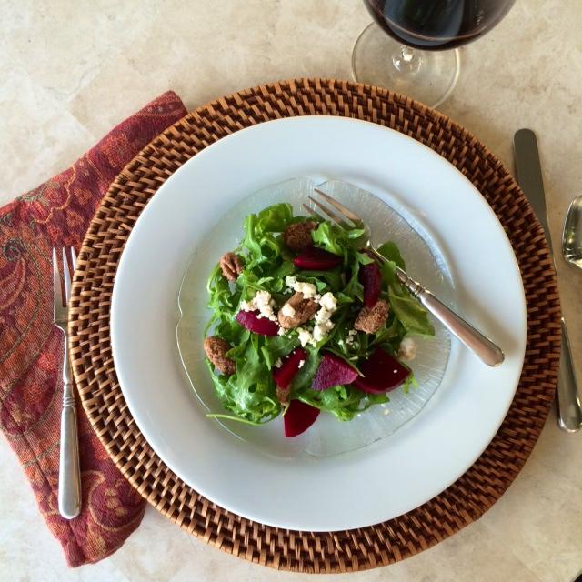 Arugula and Roasted Beet Salad