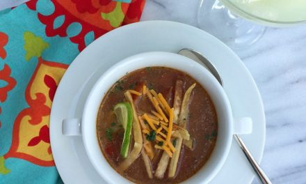 Mexican Tortilla Soup with Swanson Chicken Broth