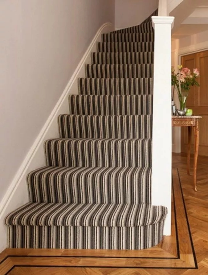 Stair Runners Stair Carpet Runners Surrey The Prestige   Contemporary Carpets For Stairs   Green   Trendy   Stylish   Stair Runner   Victorian