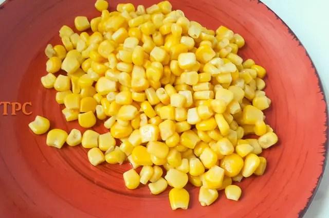 sweet corn for Adalu, beans and corn porridge