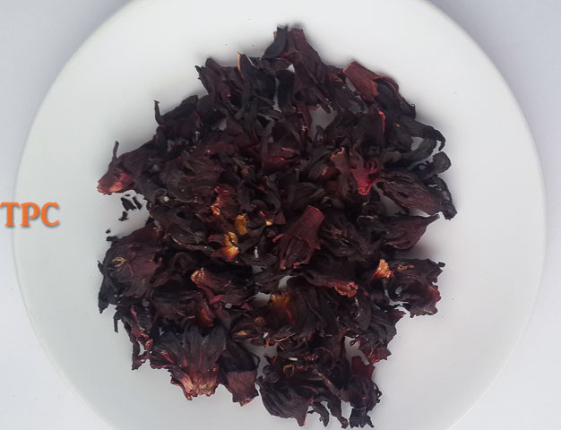 Dry zobo for zobo syrup, zobo drink