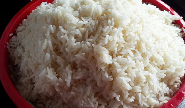 parboiled rice for Nigerian palm oil jollof rice