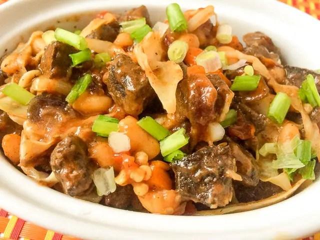 Beef liver sauce recipe