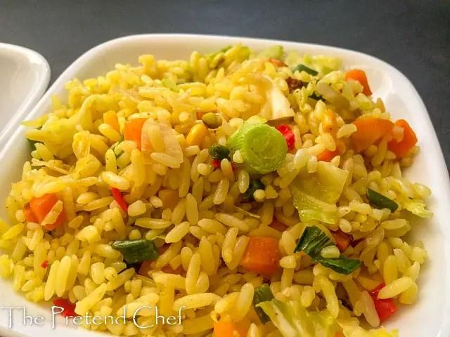 golden delicious, Nigerian stir fried rice-1