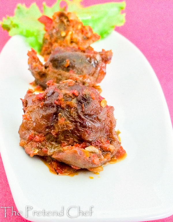 spicy and yummy nigerian peppered gizzard-