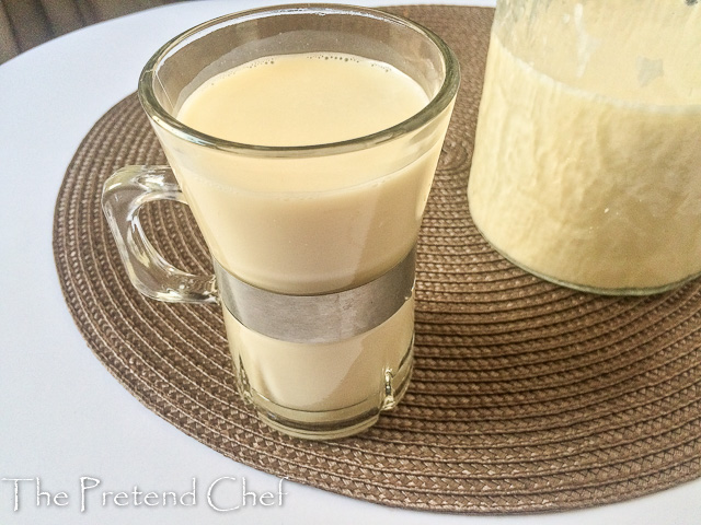 sweet, nutty and healthy kunnu aya, tiger nut milk