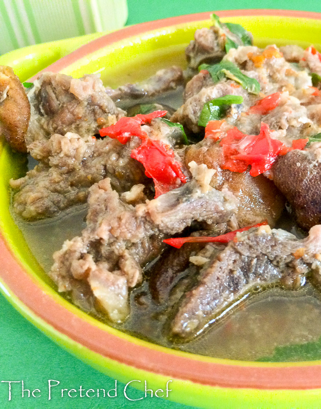 Spicy, flavourful goat meat pepper soup