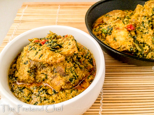 Easy and yummy fried egusi soup