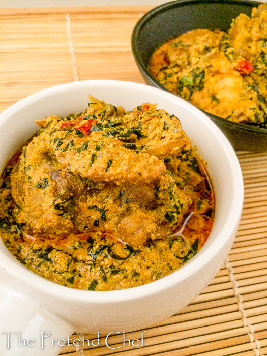Fried Egusi Soup The Pretend Chef