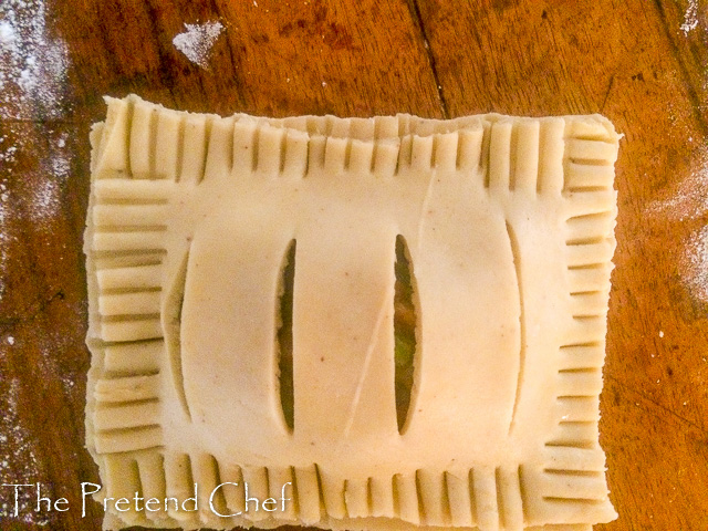 Nigerian vegetable pie to be baked