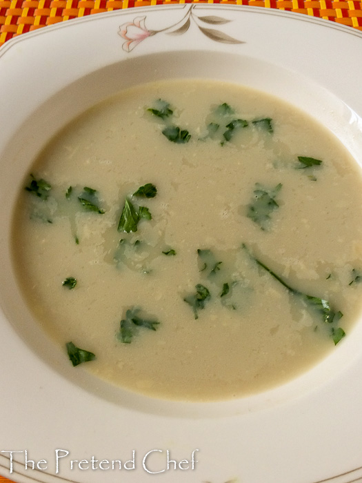 Wholesome and delicately flavoured breadfruit soup